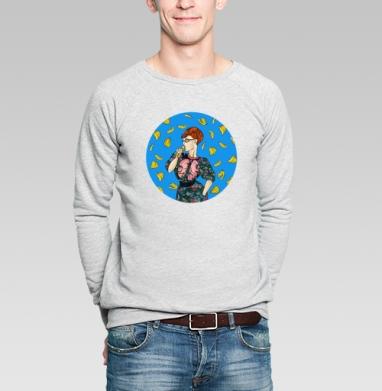 Eat it - Купить мужские свитшоты с фруктами в Москве, цена мужских свитшотов с фруктами  с прикольными принтами - магазин дизайнерской одежды MaryJane