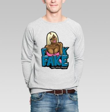 FAKE - Купить мужские свитшоты красивые в Москве, цена мужских свитшотов красивых  с прикольными принтами - магазин дизайнерской одежды MaryJane