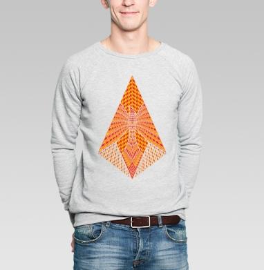 Феникс - Купить мужские свитшоты с геометрическим рисунком в Москве, цена мужских свитшотов с геометрическим рисунком  с прикольными принтами - магазин дизайнерской одежды MaryJane