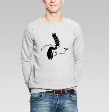 Garçon - Купить мужские свитшоты с насекомыми в Москве, цена мужских свитшотов с насекомыми  с прикольными принтами - магазин дизайнерской одежды MaryJane