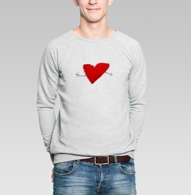 HEART - Купить мужские свитшоты нежность в Москве, цена мужских  нежность  с прикольными принтами - магазин дизайнерской одежды MaryJane