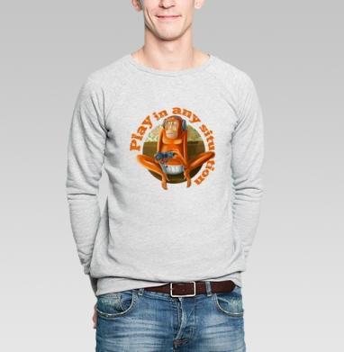 Just play - Купить мужские свитшоты с играми в Москве, цена мужских  с играми  с прикольными принтами - магазин дизайнерской одежды MaryJane