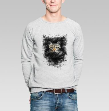 Кот - Купить мужские свитшоты с космосом в Москве, цена мужских свитшотов с космосом  с прикольными принтами - магазин дизайнерской одежды MaryJane