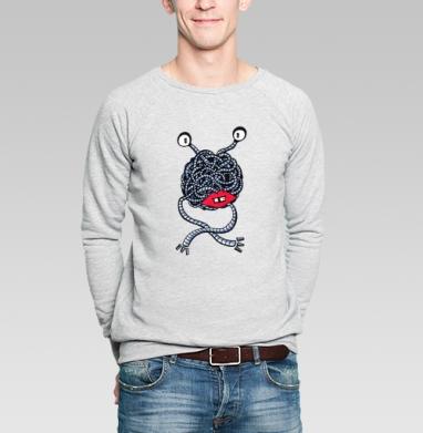 Laces - Купить мужские свитшоты с роботами в Москве, цена мужских свитшотов с роботами с прикольными принтами - магазин дизайнерской одежды MaryJane
