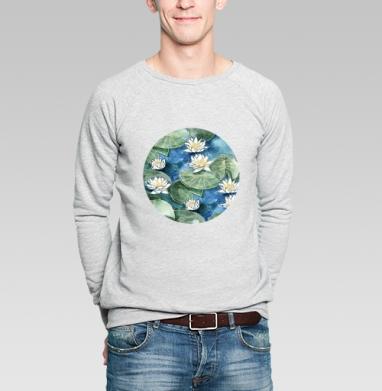 Лилия - Купить мужские свитшоты Текстуры в Москве, цена мужских свитшотов Текстуры с прикольными принтами - магазин дизайнерской одежды MaryJane