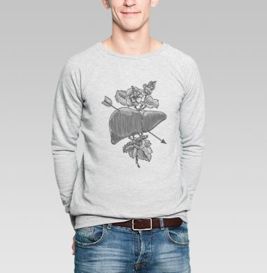 Liver&flowers - Купить мужские свитшоты Текстуры в Москве, цена мужских свитшотов Текстуры с прикольными принтами - магазин дизайнерской одежды MaryJane