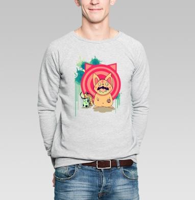 Milk and cookies - Купить мужские свитшоты с едой в Москве, цена мужских свитшотов с едой  с прикольными принтами - магазин дизайнерской одежды MaryJane