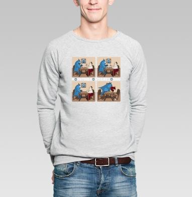 Монстры не любят проигрывать! - Купить мужские свитшоты с мороженным в Москве, цена мужских  с мороженным  с прикольными принтами - магазин дизайнерской одежды MaryJane