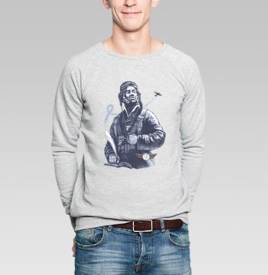 Настоящий АС - Купить мужские свитшоты военные в Москве, цена мужских  военных  с прикольными принтами - магазин дизайнерской одежды MaryJane