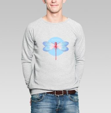 Odonata - Купить мужские свитшоты с насекомыми в Москве, цена мужских свитшотов с насекомыми  с прикольными принтами - магазин дизайнерской одежды MaryJane