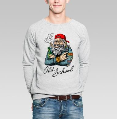 Old School - Купить мужские свитшоты с бородой в Москве, цена мужских свитшотов с бородой  с прикольными принтами - магазин дизайнерской одежды MaryJane