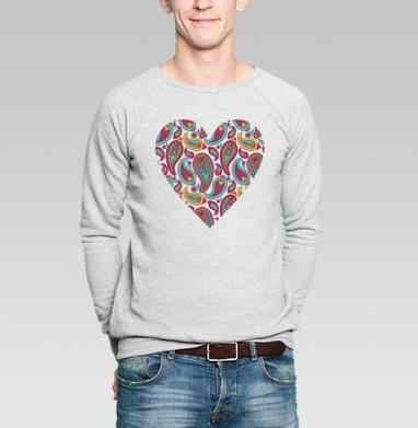 Пейсли - Купить мужские свитшоты абстрактные в Москве, цена мужских свитшотов абстрактных  с прикольными принтами - магазин дизайнерской одежды MaryJane