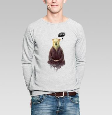 Познавший пустоту - Купить мужские свитшоты с йогой в Москве, цена мужских свитшотов с йогой  с прикольными принтами - магазин дизайнерской одежды MaryJane