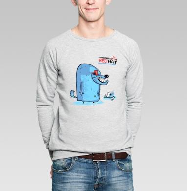 RED HAT - Купить мужские свитшоты со сказками в Москве, цена мужских свитшотов со сказками  с прикольными принтами - магазин дизайнерской одежды MaryJane