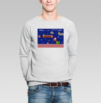 Santa Mario - Купить мужские свитшоты с играми в Москве, цена мужских  с играми  с прикольными принтами - магазин дизайнерской одежды MaryJane