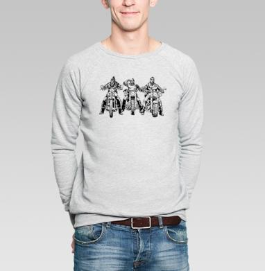 Три богатыря - Купить мужские свитшоты военные в Москве, цена мужских свитшотов военных с прикольными принтами - магазин дизайнерской одежды MaryJane