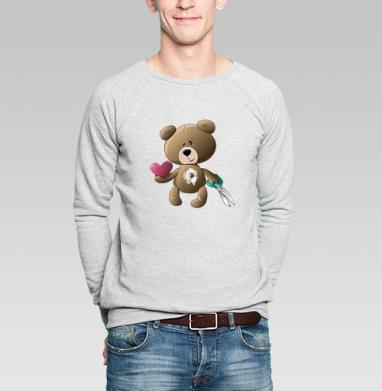 Возьми моё сердце - Купить мужские свитшоты с играми в Москве, цена мужских  с играми  с прикольными принтами - магазин дизайнерской одежды MaryJane