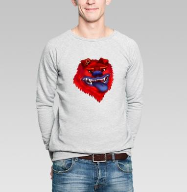Вулфкан - Купить мужские свитшоты со сказками в Москве, цена мужских  со сказками  с прикольными принтами - магазин дизайнерской одежды MaryJane