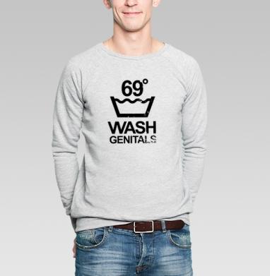 WASH GENITALS 69 - Купить мужские свитшоты секс в Москве, цена мужских  секс  с прикольными принтами - магазин дизайнерской одежды MaryJane