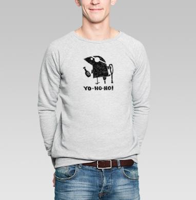 Йо-хо-хо - Купить мужские свитшоты с пиратом в Москве, цена мужских свитшотов пиратских с прикольными принтами - магазин дизайнерской одежды MaryJane