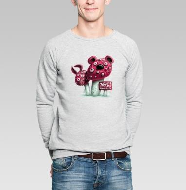 ЗБС! - Купить мужские свитшоты с грибами в Москве, цена мужских свитшотов с грибами с прикольными принтами - магазин дизайнерской одежды MaryJane