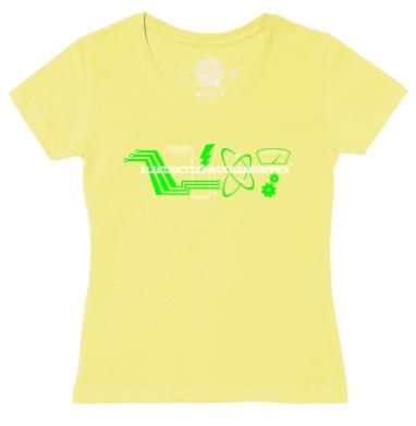 Футболка женская желтая - Electrictechnotransimpex