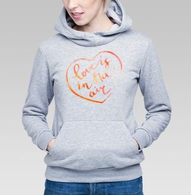 В воздухе любовь - Купить детские толстовки романтика в Москве, цена детских толстовок романтических  с прикольными принтами - магазин дизайнерской одежды MaryJane