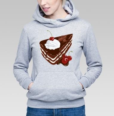 Черный лес - Купить детские толстовки с едой в Москве, цена детских толстовок с едой  с прикольными принтами - магазин дизайнерской одежды MaryJane