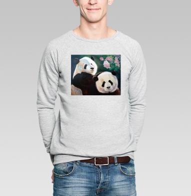Панды - Купить мужские свитшоты для влюбленных в Москве, цена мужских свитшотов дли влюбленных  с прикольными принтами - магазин дизайнерской одежды MaryJane
