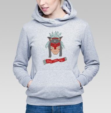 Человек человеку волк - Купить детские толстовки с индейцами в Москве, цена детских толстовок с индейцами  с прикольными принтами - магазин дизайнерской одежды MaryJane