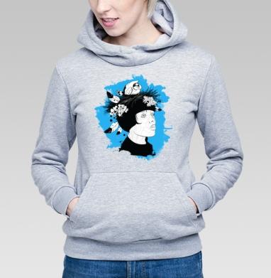 Женщина - хранитель мира - Купить детские толстовки нежность в Москве, цена детских толстовок нежность  с прикольными принтами - магазин дизайнерской одежды MaryJane