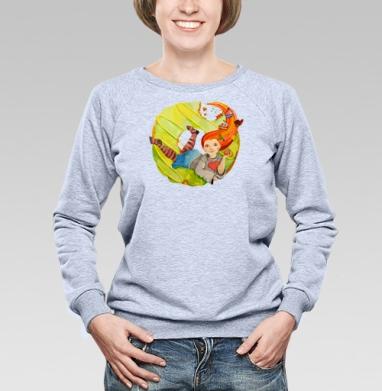 Рыжая сладкоежка - Купить детские свитшоты с едой в Москве, цена детских свитшотов с едой  с прикольными принтами - магазин дизайнерской одежды MaryJane
