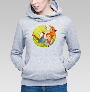 Рыжая сладкоежка - Купить детские толстовки с едой в Москве, цена детских толстовок с едой  с прикольными принтами - магазин дизайнерской одежды MaryJane