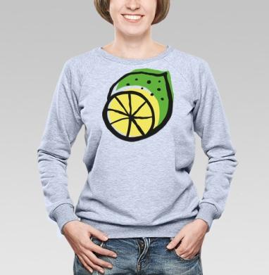 Цитрусовый всплеск - Купить детские свитшоты паттерн в Москве, цена детских свитшотов с паттерном  с прикольными принтами - магазин дизайнерской одежды MaryJane