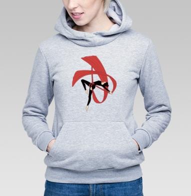 Гимнастка на воздушных полотнах - Купить детские толстовки спортивные в Москве, цена детских толстовок спортивных  с прикольными принтами - магазин дизайнерской одежды MaryJane