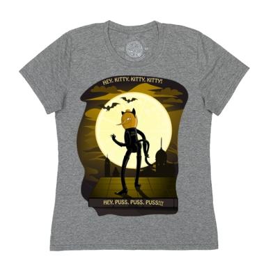 Футболка женская темно-серая - Лимонокот