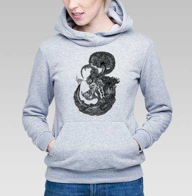 Морской Мыслитель - Купить детские толстовки паттерн в Москве, цена детских толстовок с паттерном  с прикольными принтами - магазин дизайнерской одежды MaryJane