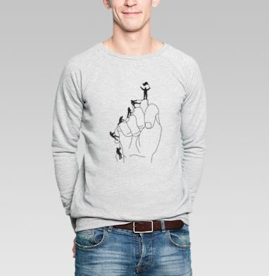АЛЬПИНИСТЫ - Купить мужские свитшоты спортивные в Москве, цена мужских  спортивных  с прикольными принтами - магазин дизайнерской одежды MaryJane