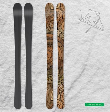 Спираль - Наклейки на лыжи