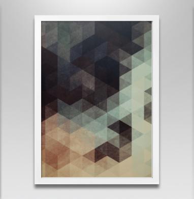 облако - Постер в белой раме, геометрия