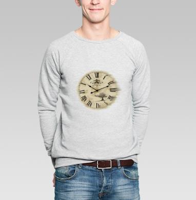 Время - Купить мужские свитшоты винтажные в Москве, цена мужских свитшотов винтажных  с прикольными принтами - магазин дизайнерской одежды MaryJane