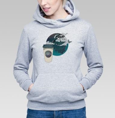 Время кофе - Купить детские толстовки с городами в Москве, цена детских толстовок с городами  с прикольными принтами - магазин дизайнерской одежды MaryJane