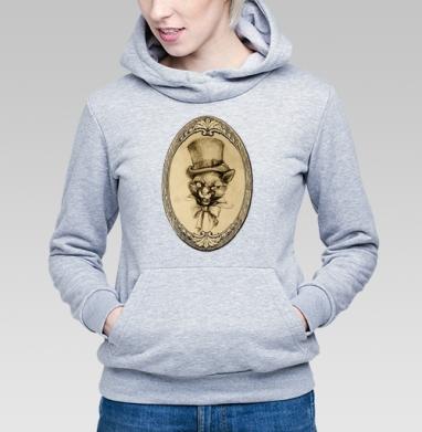 Барсик аристократ - Купить детские толстовки ретро в Москве, цена детских толстовок ретро  с прикольными принтами - магазин дизайнерской одежды MaryJane