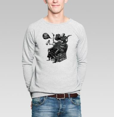 Все хрущи - мексиканцы. - Купить мужские свитшоты с насекомыми в Москве, цена мужских  с насекомыми  с прикольными принтами - магазин дизайнерской одежды MaryJane