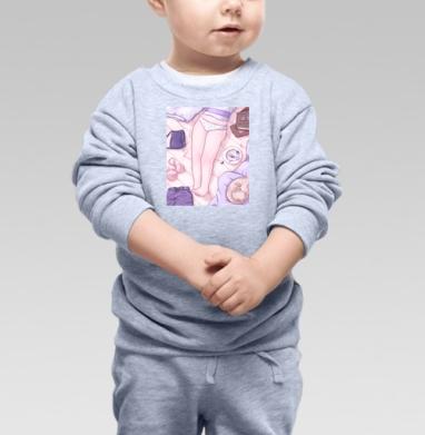 Девичья Нежность  - Купить детские свитшоты нежность в Москве, цена детских свитшотов нежность  с прикольными принтами - магазин дизайнерской одежды MaryJane