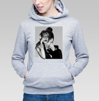 Девушка-загадка - Купить детские толстовки модные в Москве, цена детских толстовок модных  с прикольными принтами - магазин дизайнерской одежды MaryJane