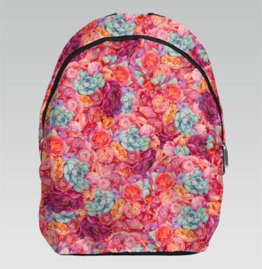 Цветочная страсть - Рюкзак