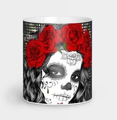 Dia de los Muertos - розы, Новинки