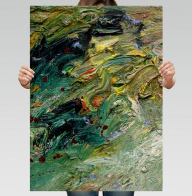 Буян - Постер вертикальный, живопись