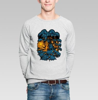 «Бессонница» - Купить мужские свитшоты военные в Москве, цена мужских свитшотов военных с прикольными принтами - магазин дизайнерской одежды MaryJane